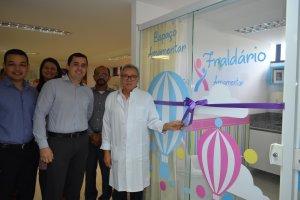 Santa Fé inaugura sala de amamentação em parceria com Libbs Farmacêutica