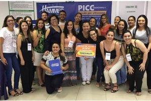 Equipe de enfermagem da Santa Fé realiza curso de Habilitações em PICC tradicional e avançado
