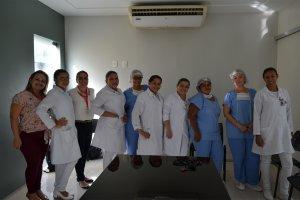 Laboratório Álvaro realizou treinamento do teste do pezinho para técnicas e enfermeiras da Santa Fé