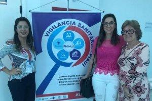 Equipe de enfermagem participa do IV Encontro Piauiense de Vigilância Sanitária e IV Jornada Piauiense de Saúde do Trabalhador