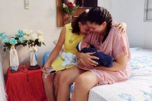 Equipe Santa Fé realiza parto de mãe com COVID-19 no Hospital da Unimed